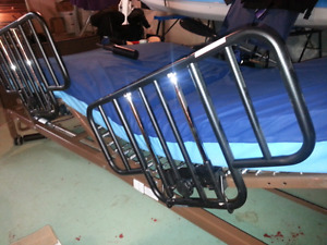 Medical bed with Roho sections