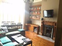 Large double room in a two-bedroom very spacious flat overlooking an amazing garden!