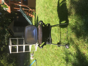 Weber Electric Grill and Stand