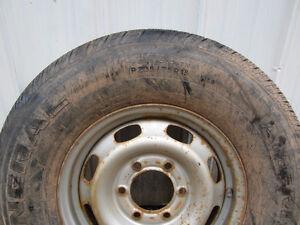 235/75/15 Tire on Rim