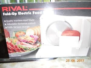 Rival Fold-up Electric Food Slicer