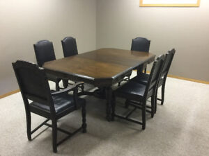 Mahogany Dining Table Chairs China Cabinet