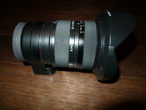Sony 11-18mm Lens with the LA-EA4 adapter