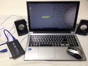 Tired of using a mouse; nice touchscreen from Acer