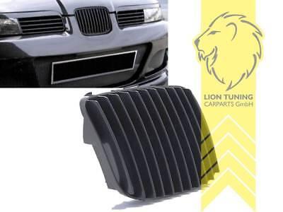 Sportgrill Kühlergrill für Seat Leon 1M Toledo 1M schwarz