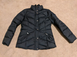 Black winter jacket