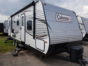 REDUCED!! 2017 COLEMAN 263