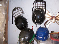 Various Hockey Helmets Suitable For Lacrosse Also $20 EACH