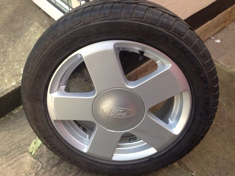 ford fiesta alloy wheel 195 50 r15 in leyton london gumtree. Black Bedroom Furniture Sets. Home Design Ideas