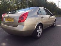 Nissan Primera 2003 FSH REVERSE PARKING CAMERA tested till end of year ideal export to Africa