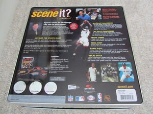 """""""Scene It?"""" DVD Board Game - Sports Edition In Collector Tin Kitchener / Waterloo Kitchener Area image 4"""