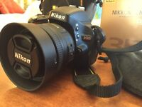Nikon D5100 Mint Condition 2 lens