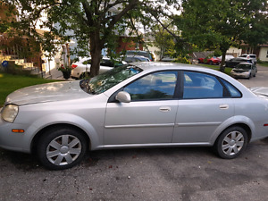 Chevy Optra 2005 Silver