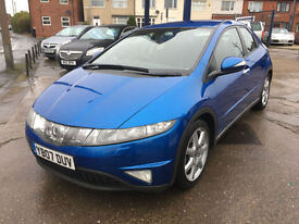 2007 Honda Civic 1.8i-VTEC i-Shift Sport automatic 88,000 miles, Great history