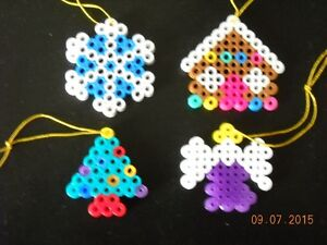***HANDMADE ORNAMENTS MADE FROM BEADS***