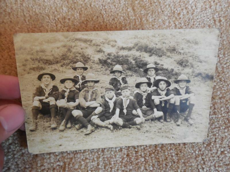 Rare Early 1900s Sheffield Troop Boy SCouts England English Scouting RPPC