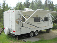 Roulotte 23 pieds trail cruiser