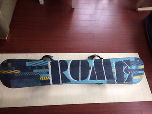 """Rome """"Agent"""" 156cm Snowboard with Rome 360 Bindings"""