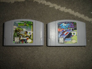 2 Nintendo 64 Games: $15 each or Both for $25