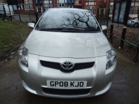 Toyota Auris D4D SR 180 3 MONTHS WARRANTY=SATNAV MODEL=VERY ECNOMICAL