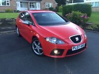 Seat Leon FR 2.0 Tdi 170 bhp ,,6 speeds long mot ..drive 100%.5 doors,,