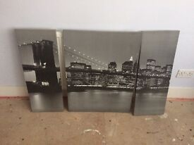 Various canvas prints £5 each