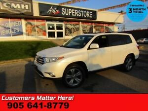 2012 Toyota Highlander Sport  AWD LEATHER ROOF CAMERA CLIMATE AU
