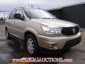 2006 BUICK RENDEZVOUS  4D UTILITY AWD