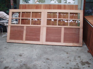 GARAGE DOORS,NEW.CEDAR.