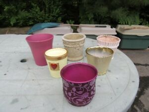 PLANT POTS - INDOOR / OUTDOOR STYLES - REDUCED!!!!