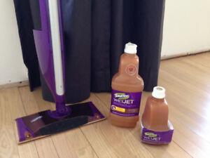 New Swiffer Wet Jet Mops for Hardwood Floors for sale!