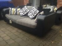 Beautiful Leather Sofas for sale *3, 2 and 1 seater*
