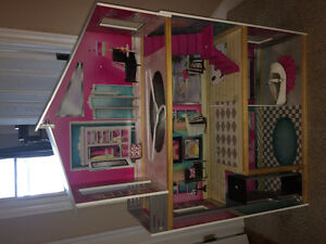 Barbie doll house $50.00 OBO