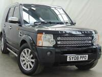 2008 Land Rover Discovery 3 TDV6 SE Diesel black Automatic
