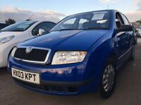 Skoda Fabia 1.2 + FULL SERVICE HISTORY + LOW MILES + SUPERB CONDITION