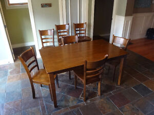 Dining Room Set with Bar Stools