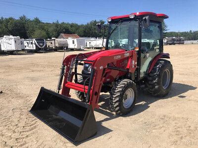2018 Tym T394 37hp Tractor W Bucket Loader Cab 6 Year Warranty