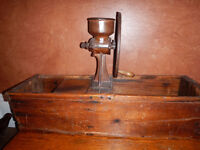 Antique Commercial Coffee Grinder