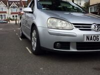 Vw golf 2006 GT TDI 2 previous owners
