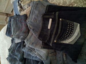 14 pairs women's jean $30 for ALL!