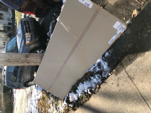 Free Ikea kitchen pieces and Roxul insulation