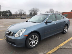2005 INFINITI G35X AWD/LEATHER/SUNROOF/WINTER TIRES!