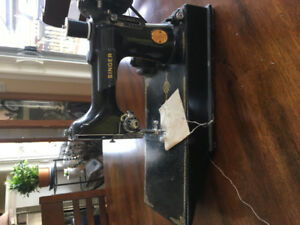 Antique Electric Sewing Machine