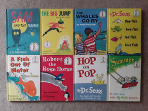 Vintage Beginner Books, Bright and Early Books + Walt Disney
