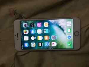 iphone 6s plus 64 gb rose gold locked to bell in great condition