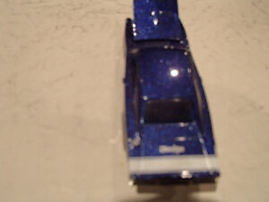 Loose Hot Wheels Blue  '69 Dodge Charger from 10 pack 1/64 Sarnia Sarnia Area image 6