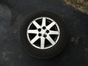Mags & summer tires P195-65R16