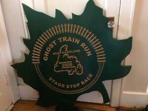 Railroad Wooden Sign
