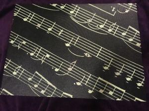 Music notes wall art
