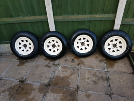 Ford steel wheels